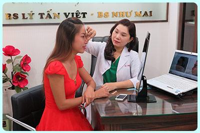 tư vấn nâng mũi tại thẩm mỹ viện nguyễn du